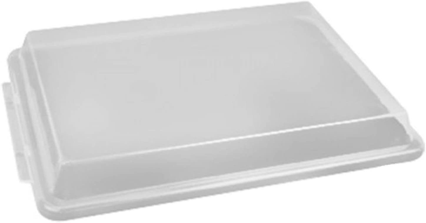 Tiger Chef Full Size 18 x 26 inch Sheet Pan Cover Translucent Plastic Lid Is NSF Certified 12 Pack