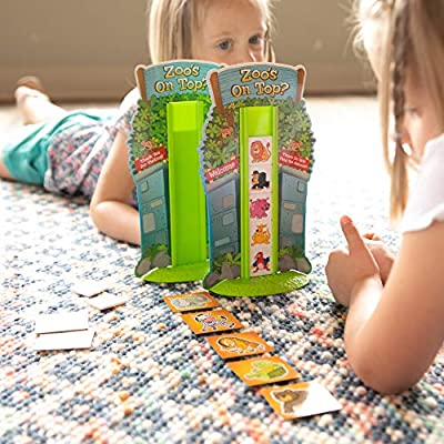 Fat Brain Toys Zoo's on Top? Games for Ages 5 to 6: Toys & Games