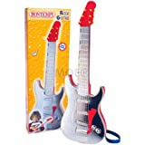Bontempi GR5401/N - 6 String Toy Rock Guitar (Silver)