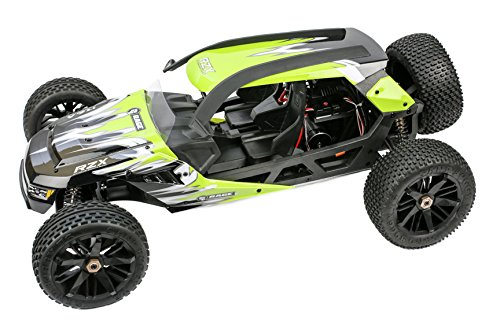 (Rage RC RGRC6000 C6000 RZX Ready-to-Run 1/6 Scale 2Wd Brushless Buggy, Green)