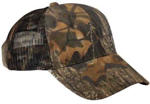 (Port Authority Men's Pro Camouflage Series Cap with Mesh OSFA MsyOak/NewBkUp)
