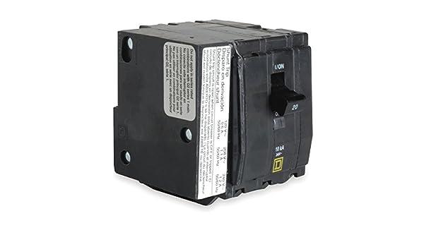 SCHNEIDER ELECTRIC Miniature 240-Volt 30-Amp QOB3301021 Molded Case Circuit Breaker 600V 150A