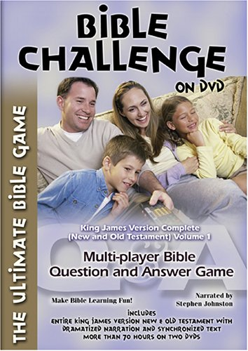 - The Bible Challenge on DVD: King James Version Complete, Vol. 1