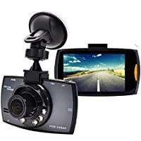 SMALL-EYE Dash Cam, Car Dashboard Camera Vehicle DVR Full HD 1080P 120 Degree Wide Angle with Night Vision