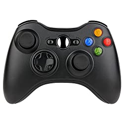 Kycola Xbox 360 Controller Sl12 Wireless Controller Xbox 360 Wireless Gamepad For Pcxbox 360(black)
