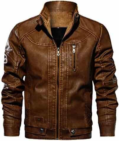804ead8d0b78 Mens Coat Clearance Forthery Mens Winter Warm Casual Full Zip Fleece Jacket  Overwear