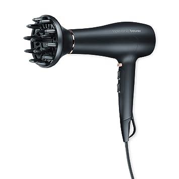 Beurer HC 50 - Secador de pelo, 2200 W, color negro, detalles cromados: Amazon.es: Salud y cuidado personal