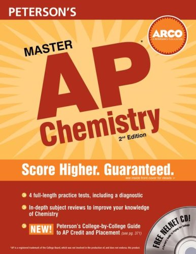 Peterson's Master AP Chemistry