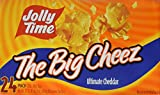 microwave popcorn jolly time - Jolly Time The Big Cheez Gourmet Cheddar Cheese Microwave Popcorn, Bulk 24-Count Box