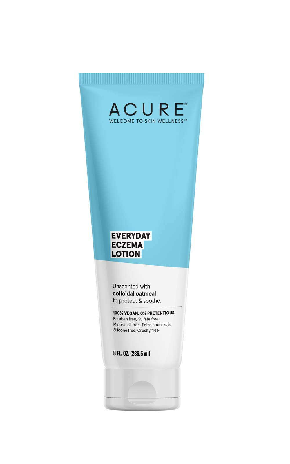 Acure Everyday Eczema Unscented Lotion, 8 Ounce by Acure