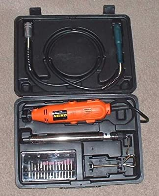 NEIKO 40 Pc Rotary Die Grinder Grinding Polishing Tool Set