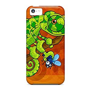 New Style Tpu 5c Protective Case Cover/ Iphone Case - Happy Liz