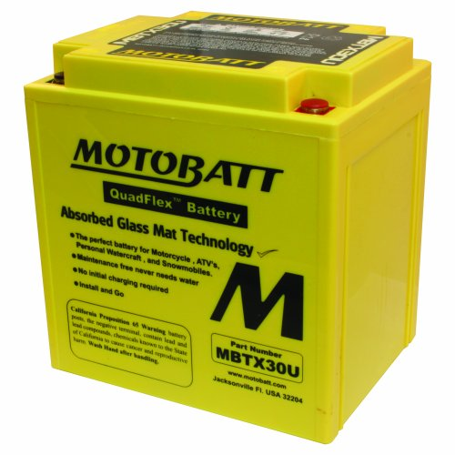 Motobatt mbtx30u 12v 32 amp 380cca factory activated - Prise 32 ampere ...