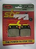 Suzuki LTR250 LTR 250 ['88-92], LT500 ['87-90] Sintered Rear Brake Pads Set 649