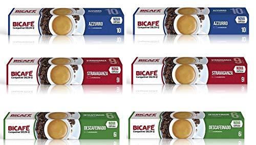 Cápsulas Delta Q®* Compatibles Degustacion 60 Capsulas: Amazon.es: Alimentación y bebidas