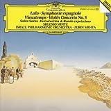 Lalo: Symphonie espagnole / Vieuxtemps: Violin Concerto No. 5 / Saint-Saens: Introduction & Rondo capriccioso op. 28