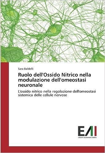 Ruolo dellOssido Nitrico nella modulazione dellomeostasi ...