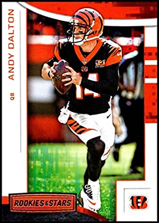 separation shoes 10537 e871e Amazon.com: 2018 Rookies and Stars Football #66 Andy Dalton ...
