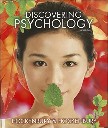 Discovering psychology fifth edition hockenbury.