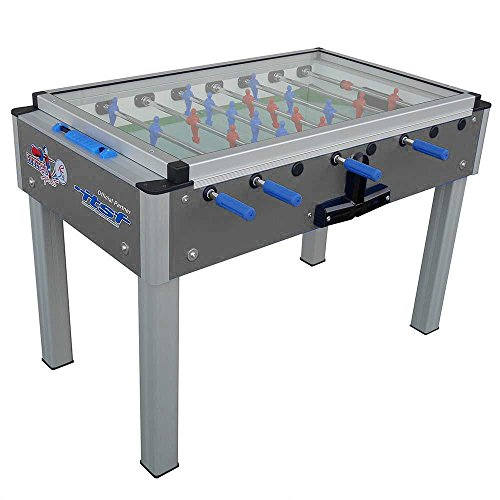 Roberto Sport College Pro Covered International Gray Foosball Table by Roberto Sport