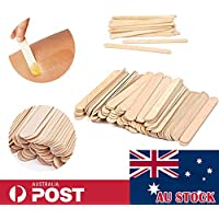 Disposable Hair Removal Wooden Waxing Spatula Wax Sticks Applicator Tool S/M/L