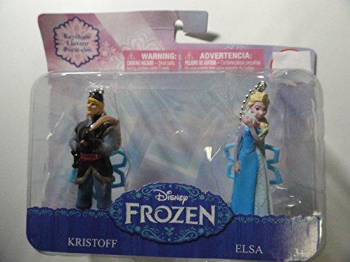 Disney Frozen Kristoff and Elsa Keychains