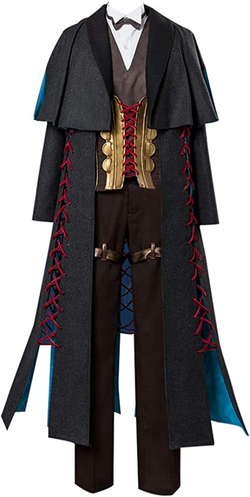 Cosonsen Fate Grand Order FGO Sherlock Holmes Cosplay Costume Full Set New