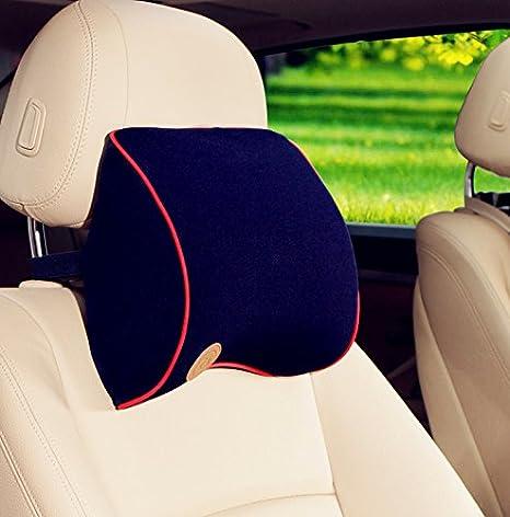 HCMAX Auto-Nackenkissen Fahren komfortabel weich Gedä chtnisschaum Auto-Sitz-Kopfstü tze Schü tzen Sie Hals und Wirbel Fit Reise/Bü ro / Zuhause/Auto