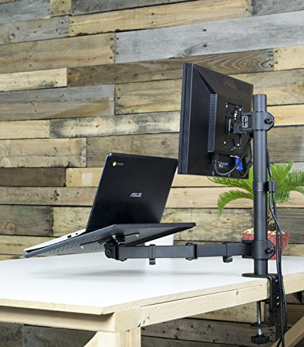 Dual Mount For 1 Laptop Notebook Amp 1 Lcd Monitor