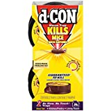 d-CON Rodenticide Rodent No View, No Touch Mouse Trap, 2 Count, Pack of 1