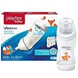 Playtex Baby BPA-Free VentAire Fox Decor Baby Bottles, 9 oz, Pack of 3
