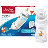 Playtex Baby Ventaire Anti-Colic Anti-Reflux Bottle, Fox Decorated, 3 Count