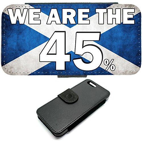 iPhone 6 Brieftasche erfunden 45% Schottische Unabhängigkeit Tasche