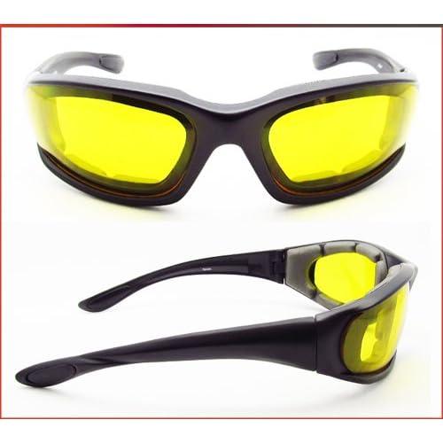 72fb670c66 Photochromic lenses Light Adjusting Motorcycle Sunglasses Foam Padded for  Men and Women. Free Microfiber Cleaning