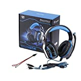 Headband Wired Gm-2 Gaming Headset Headphones with Microphone Led Light