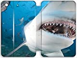 ipad air 2 shark - Personality pictures Leather Case/ Porsche Leather Case Cover For Bull Shark iPad Mini 4 (7.9inch) For Design By [Zhao Liang]