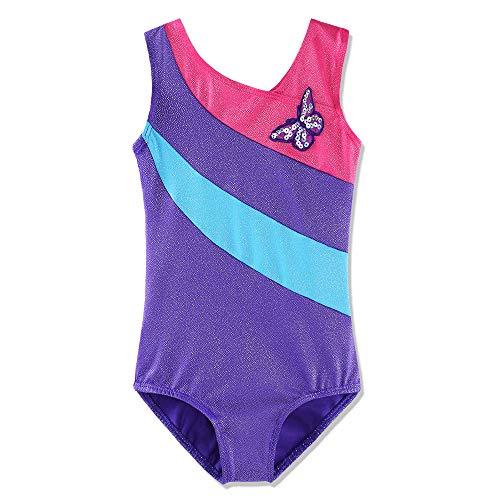 66f289b6e Dancina Girls Leotards Gymnastics Size 6 Gem Purple   Leotards ...