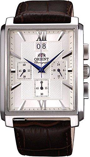 ORIENT Classic Quartz Chronograph Blue Hands Watch FTVAA004S (Orient Quartz Chronograph)