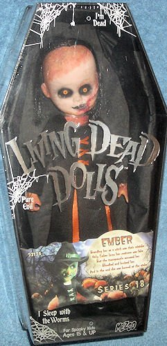 Living Dead Dolls Urban Legends Series 18 HALLOWEEN Variant Ember by Mezco