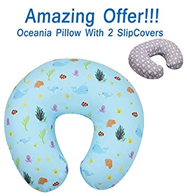 Sale - MyTickles Oceania Nursing Pillow and Positioner (with Two Slipcovers)