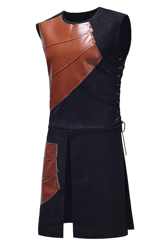 Men/'s Medieval Vest Renaissance Medieval Waistcoat Vest