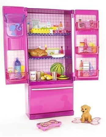 Mattel N4898 - Barbie Leben Wohnaccessoire Kühlschrank, Möbel ...