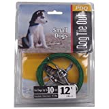 Boss Pet Products Q2212-000-99 Puppy Tie Out Cable 12'