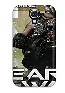 Special Design Back Gears Of War 3 Clayton Carmine Phone Case Cover For Galaxy S4