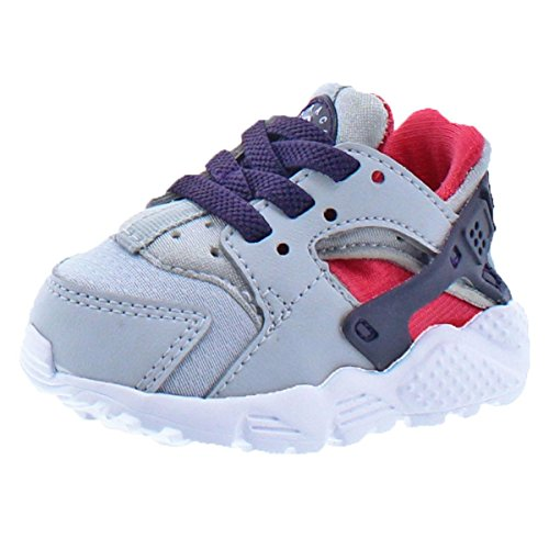 (NIKE Huarache Run Infant Low-Top Sneakers Gray 2 Medium (B,M) Infant)