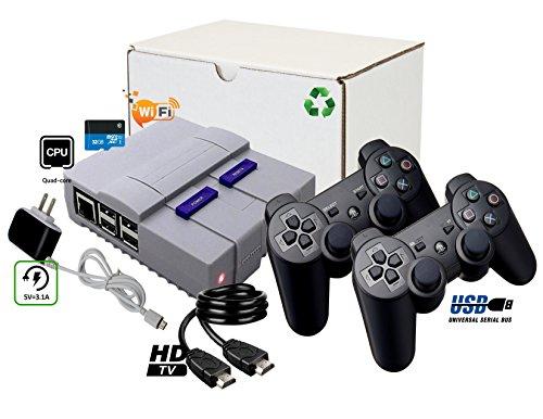 TheWorldMart Mini Classic Retro 10000 Games Entertainment System Emulation HDMI Video TV Game 720P RecalBox Kodi Raspberry Pi 3 B+ Plus 32Gb Edition by TheWorldMart