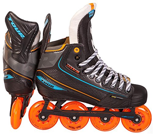 TOUR HOCKEY CODE 1 SENIOR INLINE HOCKEY SKATES BLACK SIZE 11 by Tour
