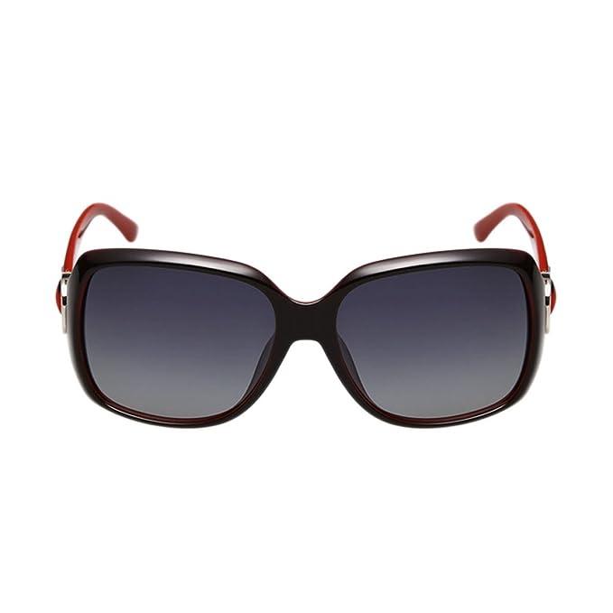 Gafas De Sol Polarizadas Para Mujer Gafas De Sol Polarizadas Classic Vintage Big Box,A