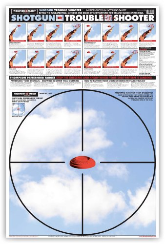 (Shotgun Patterning Trouble Shooter - Paper Gun Range Shooting Targets 25 x 38 Inches (25 pack))