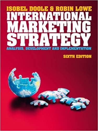 development of an international marketing strategy